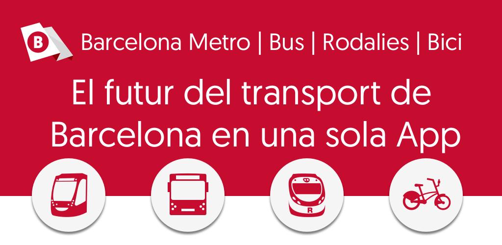 Barcelona Metro Bus Rodalies Bici