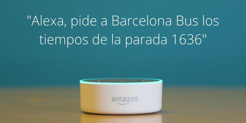 Barcelona Bus Alexa Skill
