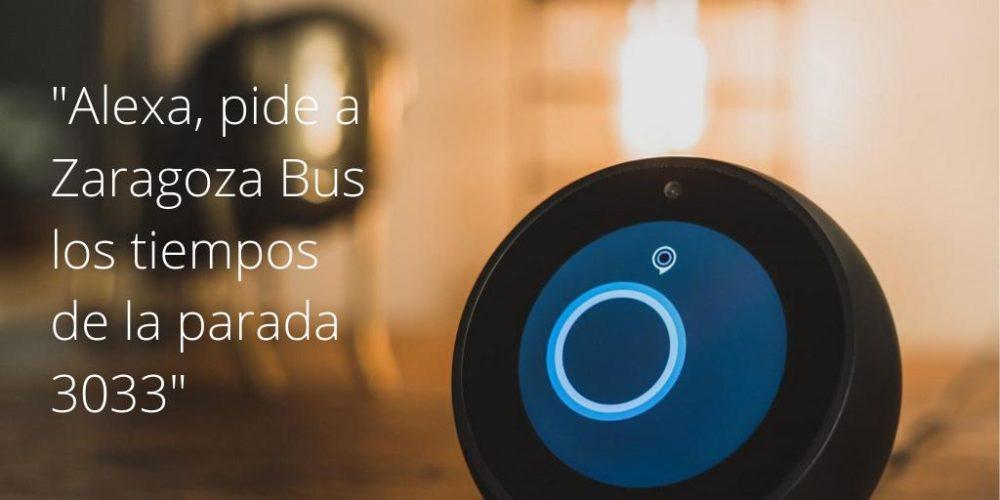 Zaragoza Bus Alexa Skill